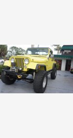 1982 Jeep CJ for sale 101437630