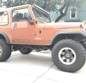 1982 Jeep CJ 7 for sale 101208030