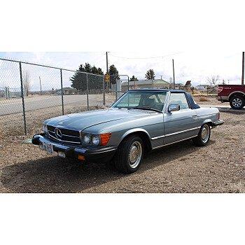 1982 Mercedes-Benz 380SL for sale 101490243