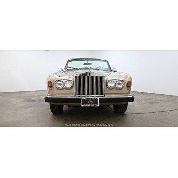 1982 Rolls-Royce Corniche for sale 101080156