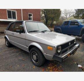 1982 Volkswagen Rabbit Convertible for sale 101084497
