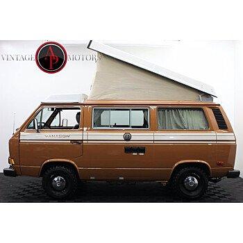 1982 Volkswagen Vanagon for sale 101404293