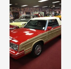 1983 Chrysler LeBaron Convertible for sale 101116812