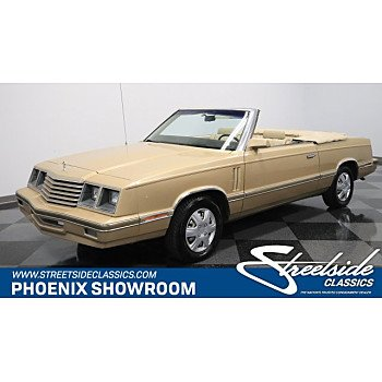 1983 Dodge 400 Convertible for sale 100968772