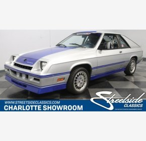 1983 Dodge Charger Shelby for sale 101305605