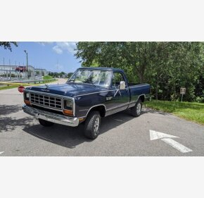 1983 Dodge D/W Truck 4x4 Regular Cab W-150 for sale 101366160
