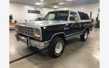 1983 Dodge Ramcharger AW 100 4WD for sale 101046404