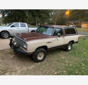 1983 Dodge Ramcharger for sale 101241525