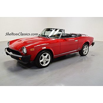 1983 FIAT Pininfarina Spider for sale 101038949
