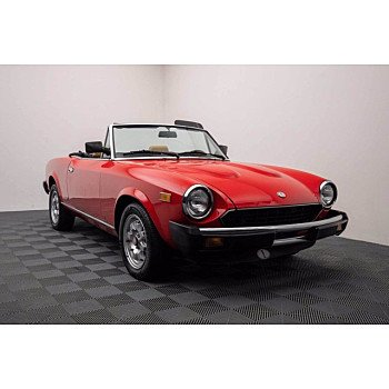 1983 FIAT Pininfarina Spider for sale 100732898