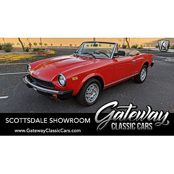 1983 FIAT Pininfarina Spider for sale 101336137
