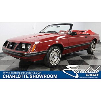 1983 Ford Mustang GLX Convertible for sale 101383261