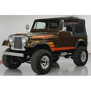1983 Jeep CJ 7 for sale 101074089