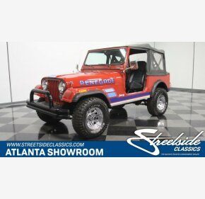 1983 Jeep CJ 7 for sale 101156570