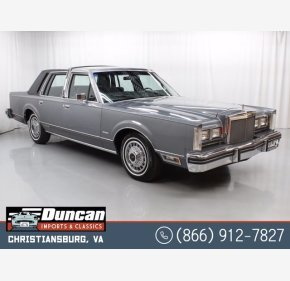 1983 Lincoln Town Car for sale 101392095