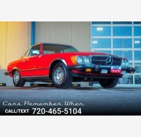 1983 Mercedes-Benz 380SL for sale 101092539