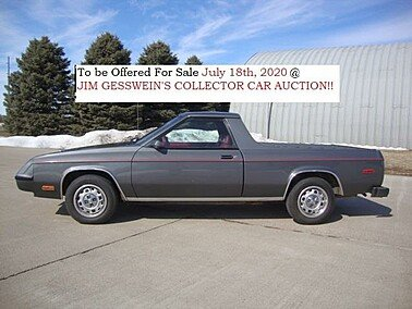 1983 Plymouth Scamp for sale 101294614