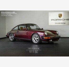 1983 Porsche 911 SC Coupe for sale 101217068