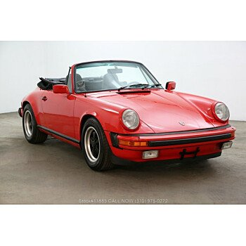 1983 Porsche 911 Cabriolet for sale 101306015