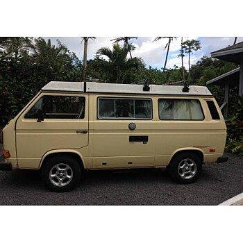 1983 Volkswagen Vanagon Camper for sale 101058631
