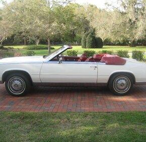 1984 Cadillac Eldorado Biarritz Convertible for sale 101099911