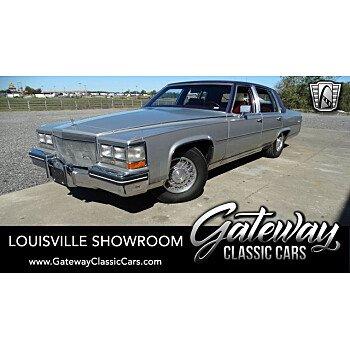 1984 Cadillac Fleetwood Brougham Sedan for sale 101224236