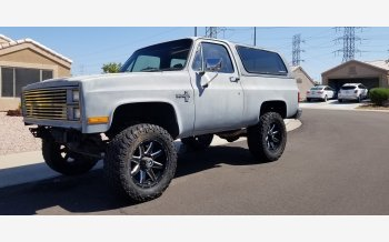1984 Chevrolet Blazer 4WD for sale 101603720