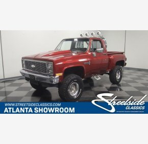 1984 Chevrolet C/K Truck 4x4 Regular Cab 1500 for sale 101002322