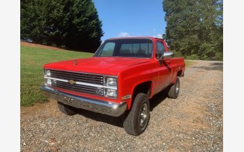 1984 Chevrolet C/K Truck 4x4 Regular Cab 1500 for sale 101221947
