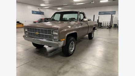 1984 Chevrolet C/K Truck 2WD Regular Cab 2500 for sale 101401660