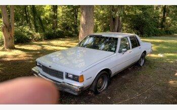 1984 Chevrolet Caprice Classic Sedan for sale 101610137