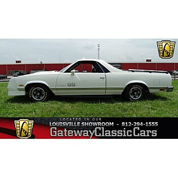 1984 Chevrolet El Camino V8 for sale 101001061