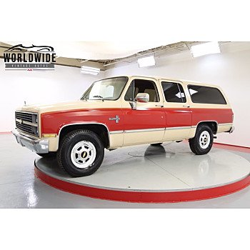 1984 Chevrolet Suburban 2WD 2500 for sale 101504215