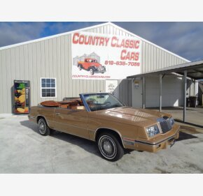 1984 Chrysler LeBaron for sale 101054380