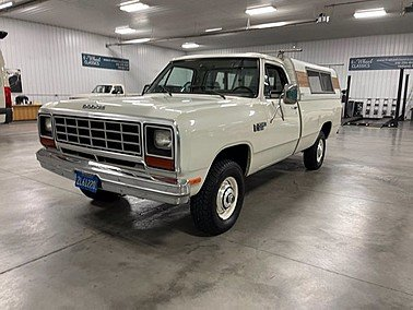 1984 Dodge D/W Truck 4x4 Regular Cab for sale 101417448