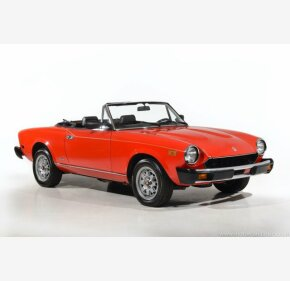 1984 FIAT Pininfarina Spider for sale 101310449
