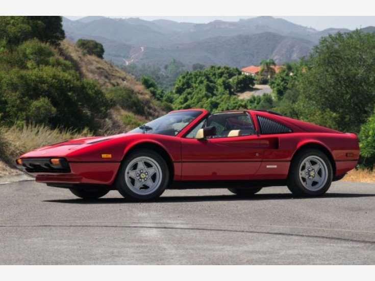 1984 Ferrari 308 Gts For Sale Near Temecula California