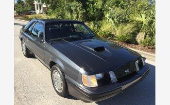 1984 Ford Mustang SVO Hatchback for sale 101063202