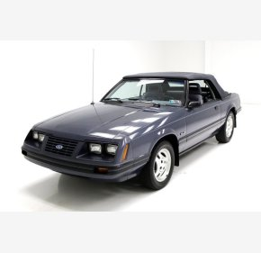1984 Ford Mustang GLX V8 Convertible for sale 101167612