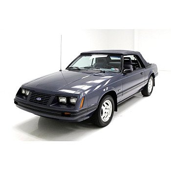 1984 Ford Mustang LX Convertible for sale 101167612