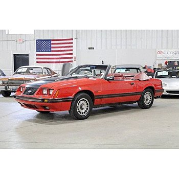 1984 Ford Mustang GLX Convertible for sale 101179876