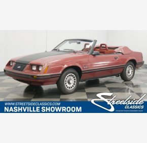 1984 Ford Mustang GLX V8 Convertible for sale 101269818