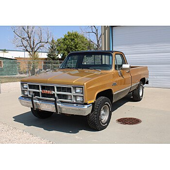 1984 GMC Sierra 1500 4x4 Regular Cab for sale 101371385