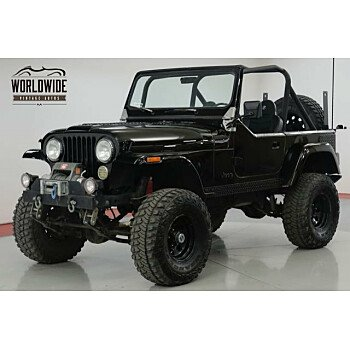 1984 Jeep CJ 7 for sale 101084769