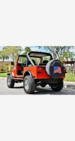 1984 Jeep CJ 7 for sale 101117709