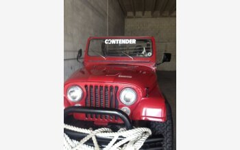 1984 Jeep CJ 7 for sale 101190361