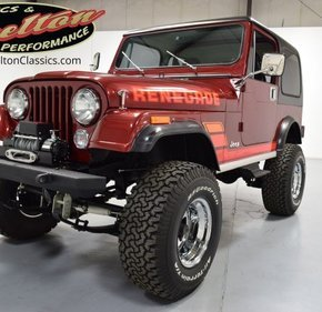 1984 Jeep CJ 7 for sale 101313269