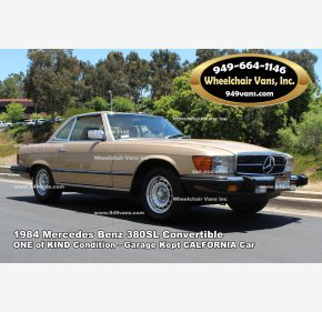 1984 Mercedes-Benz 380SL for sale 100995135