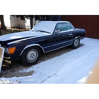 1984 Mercedes-Benz 500SL for sale 101081721