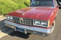 1984 Oldsmobile Cutlass Supreme Sedan for sale 101418194